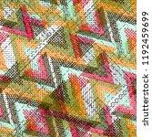 seamless pattern urban design.... | Shutterstock . vector #1192459699