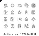 simple set of business strategy ...   Shutterstock .eps vector #1192462000