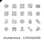 simple set of cryptocurrency... | Shutterstock .eps vector #1192462030