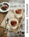 coffee yogurt panna cotta | Shutterstock . vector #119246269
