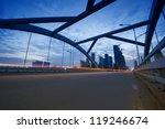 the night of modern bridge  the ... | Shutterstock . vector #119246674