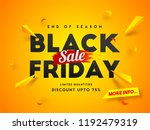 end of season  black friday... | Shutterstock .eps vector #1192479319