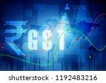 2d rendering stock market... | Shutterstock . vector #1192483216