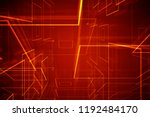 2d illustration abstract... | Shutterstock . vector #1192484170