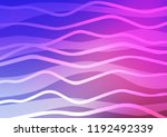 light pink  blue vector... | Shutterstock .eps vector #1192492339