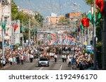 gomel  belarus   may 9  2018 ... | Shutterstock . vector #1192496170