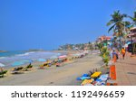 kovalam  india   march 06  2018 ... | Shutterstock . vector #1192496659