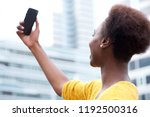 portrait of young african woman ... | Shutterstock . vector #1192500316