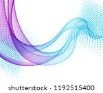 abstract vector background with ... | Shutterstock .eps vector #1192515400