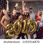new 2019 year is coming  group...   Shutterstock . vector #1192516870