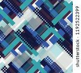 seamless pattern urban design.... | Shutterstock . vector #1192522399