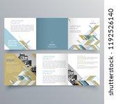 brochure design  brochure... | Shutterstock .eps vector #1192526140