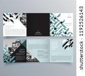 brochure design  brochure... | Shutterstock .eps vector #1192526143