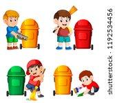 vector illustration of the... | Shutterstock .eps vector #1192534456