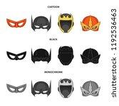 vector illustration of hero and ...   Shutterstock .eps vector #1192536463