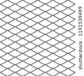seamless pattern in fish scale... | Shutterstock .eps vector #1192539499