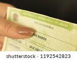 sao paulo  brazil   october...   Shutterstock . vector #1192542823