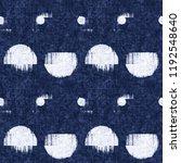 broken dots graphic motif... | Shutterstock . vector #1192548640