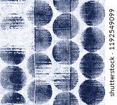 grunge dots bleached effect... | Shutterstock . vector #1192549099