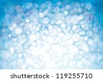 lights on blue background. | Shutterstock .eps vector #119255710