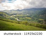 landscapes around orosi valley... | Shutterstock . vector #1192562230