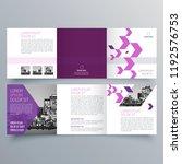 brochure design  brochure... | Shutterstock .eps vector #1192576753