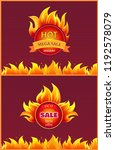 best offer hot sale badge with... | Shutterstock .eps vector #1192578079