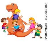 vector illustration of the... | Shutterstock .eps vector #1192588180