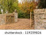 Stylish Wooden Gates Across...
