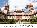 Ornate Tower And Details Of...