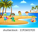 vector illustration of the... | Shutterstock .eps vector #1192601920
