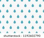 drops pattern. endless... | Shutterstock .eps vector #1192602790