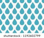 drops pattern. endless... | Shutterstock .eps vector #1192602799