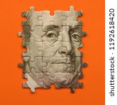 Puzzle With Benjamin Franklin's ...
