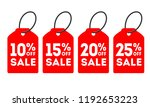special offer sale tag discount.... | Shutterstock .eps vector #1192653223
