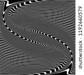 wavy lines texture. abstract... | Shutterstock .eps vector #1192660579
