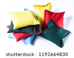 colorful kinetic pillows with...   Shutterstock . vector #1192664830
