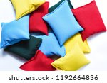 colorful kinetic pillows with...   Shutterstock . vector #1192664836