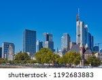 frankfurt  germany   september...   Shutterstock . vector #1192683883