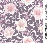 floral seamless pattern. ... | Shutterstock .eps vector #1192684003