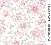 floral seamless pattern. ... | Shutterstock .eps vector #1192684459