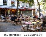 paris  france february 21  2018 ...   Shutterstock . vector #1192684879