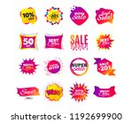 sale banner templates design.... | Shutterstock .eps vector #1192699900
