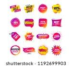 sale banner templates design.... | Shutterstock .eps vector #1192699903