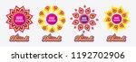diwali sales banners. huge... | Shutterstock .eps vector #1192702906
