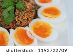 close up top view of thai food... | Shutterstock . vector #1192722709