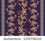seamless vintage borders....   Shutterstock .eps vector #1192736110