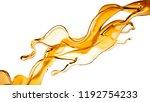 splash of orange transparent...   Shutterstock . vector #1192754233