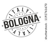 bologna italy europe quality... | Shutterstock .eps vector #1192761670