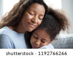 close up portrait of black... | Shutterstock . vector #1192766266